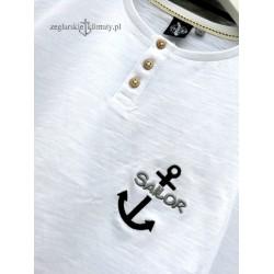 Koszulka męska z haftem SAILOR