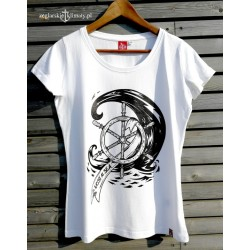 Koszulka damska premium LOST AT SEA