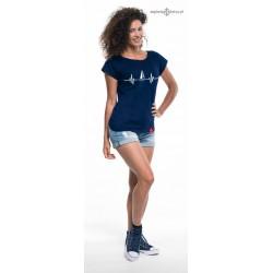 Koszulka damska premium strech EKG