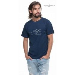 Koszulka męska vintage BOAT