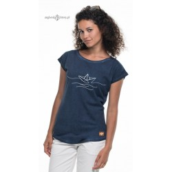 Koszulka damska vintage BOAT