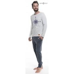 Ciepła piżama męska Sea Moods