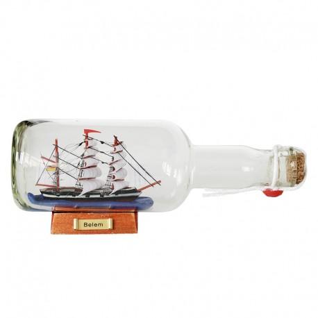 Żaglowiec BELEM w butelce (rafandynka)
