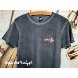 Koszulka męska vintage - haft Sailing Team